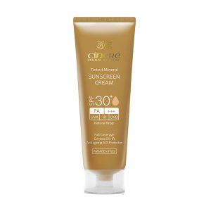 کرم ضد آفتاب رنگی سینره SPF30